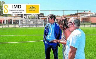 El delegado de Transición Ecológica y Deportes del Ayuntamiento de Sevilla, David Guevara.