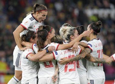 4-0. España golea a Azerbaiyán en un partido cómodo
