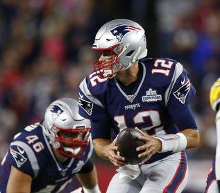 Brady con marca, Patriots invictos; Texans, 53 puntos; Rudolph, conmocionado