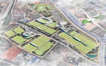 El proyecto de la nueva Ciudad Deportiva, en su última fase