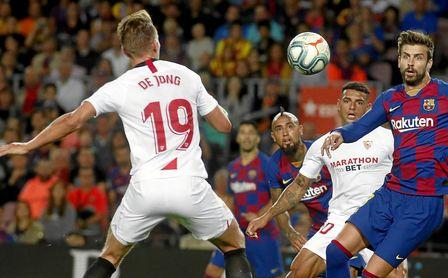 Un Sevilla con pegada pero sin gol