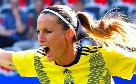 El tremendo golazo de Asllani con Suecia