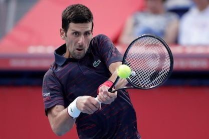 """Djokovic: """"Estoy feliz de que mi hombro haya aguantado"""""""