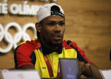 """El atleta Anthony Zambrano dice que Colombia es """"potencia"""" y debe aumentar sus medallas"""