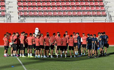 La exigencia en el Sevilla es cada vez más elevada.
