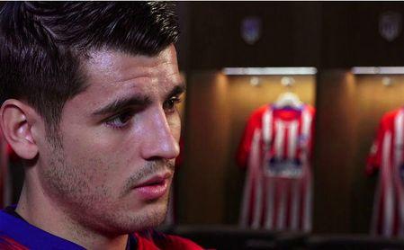 Morata habla del partido ante el Valencia