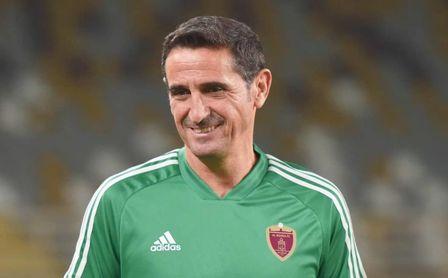 Jiménez no entrenaba desde que dejó el AEK, el pasado mes de mayo.