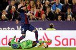 Toño, baja ante el Espanyol por lesión muscular