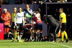 Rodrigo, cuarta vez que es expulsado tras marcar en el mismo partido