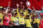 Rodas gana su segunda Vuelta a Guatemala; Colombia y Perú sacaron botín