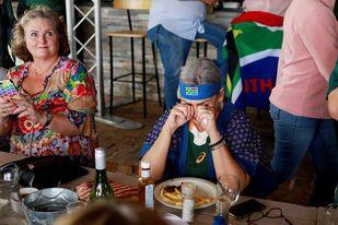 La victoria en la Copa Mundial de Rugby une a una Sudáfrica en apuros