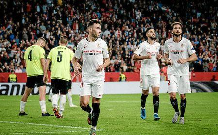 El Sevilla cumplirá 200 partidos en Europa ante el Dudelange.