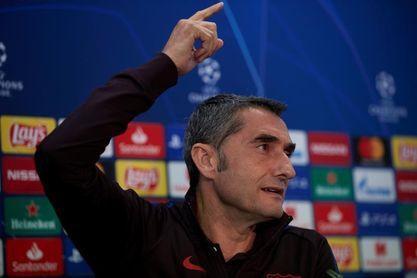 """Valverde: """"No tengo en cuenta las razones parapsicológicas de las derrotas"""""""