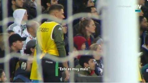 """Joaquín, al ver fallar a Vinicius: """"Éste es muy malo"""""""
