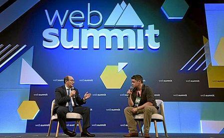 Castro, en el Web Summit de Lisboa.