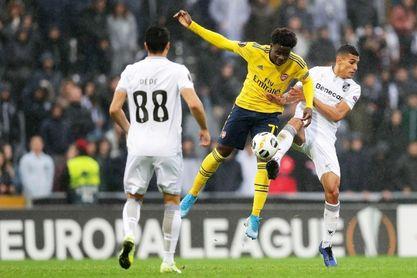Bruno Duarte evita el triunfo del Arsenal en el añadido