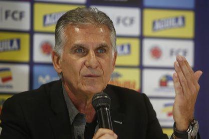 """Queiroz dice que James está bien y toma distancia de """"rumores"""" en Real Madrid"""