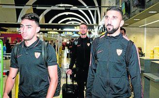 Dabbur, antes de partir a Luxemburgo con el Sevilla FC.