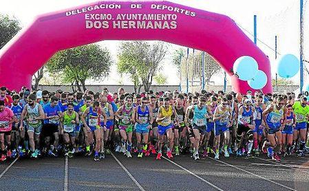 Salida de esta Media Maratón que coronó a Rubén Álvarez y a Sandra Schenkel
