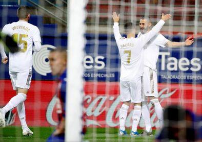 0-4. El mejor Real Madrid da un golpe en la mesa
