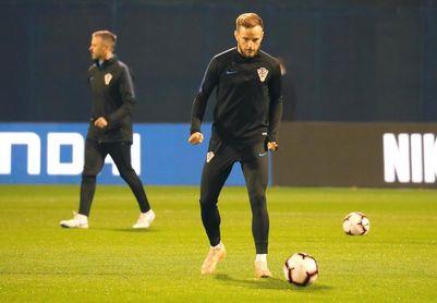 Rakitic no jugará con Croacia ante Eslovaquia por una lesión en el tendón de Aquiles