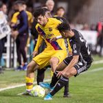 0-2. El Barça se impone al Cartagena con goles de Carles Pérez y Marqués