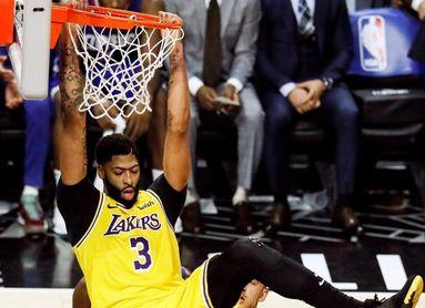 115-123. Davis y Kuzma salvan a Lakers ante los Suns con Rubio de líder