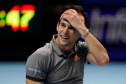 Thiem logra una de las semifinales y Federer-Djokovic por la otra
