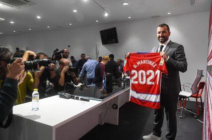 """Diego Martínez, tras su renovación: """"Llevo 500 días feliz aquí"""""""