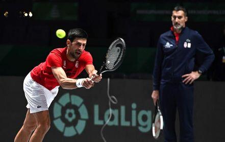 Djokovic, en plenas facultades para la competición en la que más disfruta