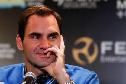 """Federer: """"Siempre busco mejorar y a los 38 años todavía no es tarde"""""""