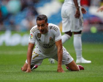 Lucas Vázquez se fractura un dedo del pie derecho