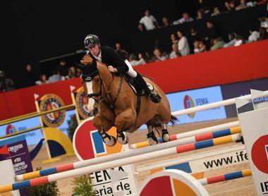 Ehning sorprende y vence en Madrid con una veloz prueba de salto a caballo