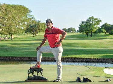 Un heroico Larrazabal se inspira en Tiger para volver a ganar