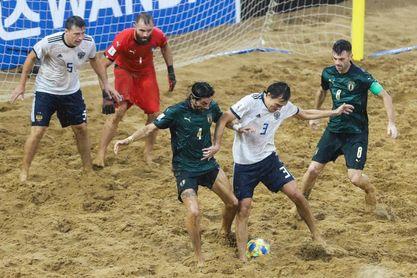 Italia y Portugal definirán la décima edición del Mundial de fútbol playa