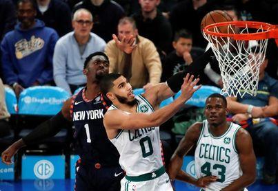 104-113. Tatum y Brown imponen su clase ante los Knicks y ganan los Celtics
