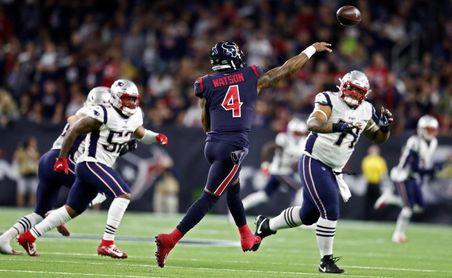 Ravens y Texans acaban con dominio de 49ers y Patriots