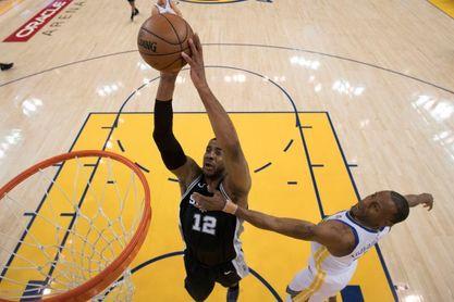 105-104. Aldridge logra un doble-doble y los Spurs suman tercer triufo
