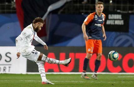 Neymar y Mbappe sacan de un apuro al París Saint Germain