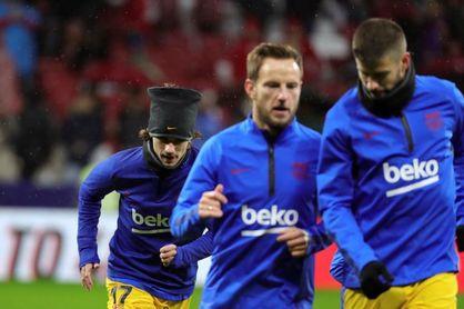 Rakitic repite como titular ante el Mallorca