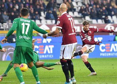 El Cagliari nunca se rinde, Ansaldi guía al Torino y Balotelli al Brescia
