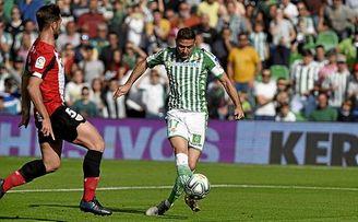 Joaquín destrozó al Athletic partiendo desde la izquierda.