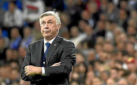 Carlo Ancelotti, en su etapa en el Real Madrid.