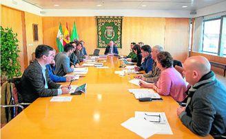 La reunión de la última Junta de Gobierno del año celebrada por el Equipo de Gobierno de la Diputación.