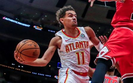 116-111. Young lidera a los Hawks con 41 puntos en el triunfo sobre los Pacers