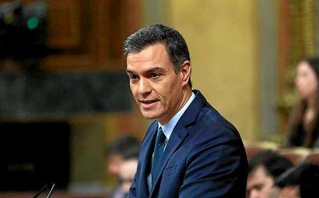 Pedro Sánchez logró 167 votos a favor por 165 en contra y 18 abstenciones.