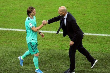 """Zidane: """"No sé si fue la mejor versión pero sí una muy buena"""""""