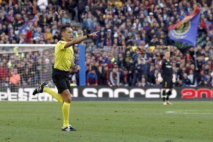 Sánchez Martínez dirigirá la final Real-Atlético