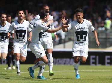2-1. Los Pumas UNAM vencen al Pachuca en primera fecha del Clausura mexicano