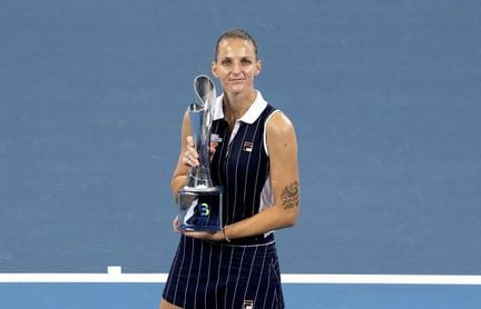 Karolina Pliskova gana en Brisbane por tercera vez